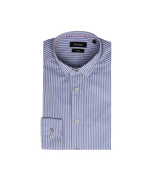 CALVIN KLEIN 205W39NYC - Blue Shirt Men for Men - Lyst