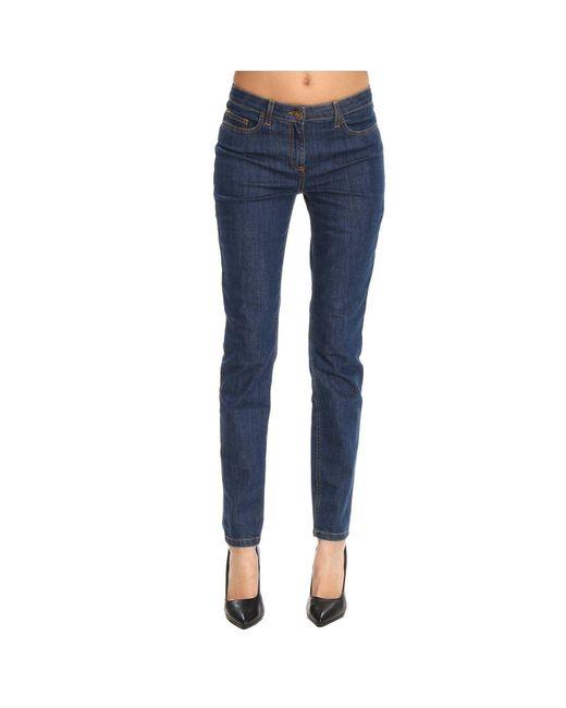 Elisabetta Franchi - Blue Jeans Women - Lyst