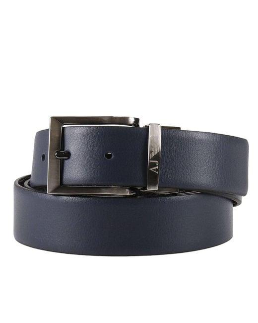 Armani Jeans   Blue Belt Men for Men   Lyst