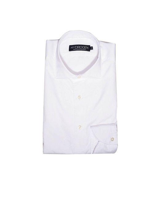 Hydrogen   White Men's Shirt for Men   Lyst