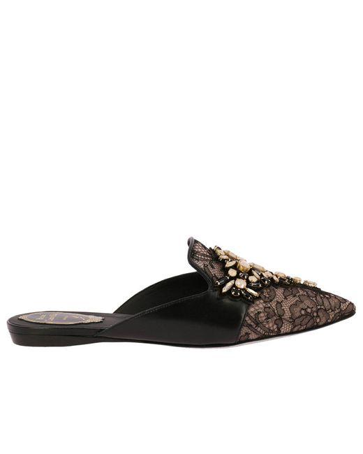 Rene Caovilla - Black Ballet Flats Shoes Women - Lyst