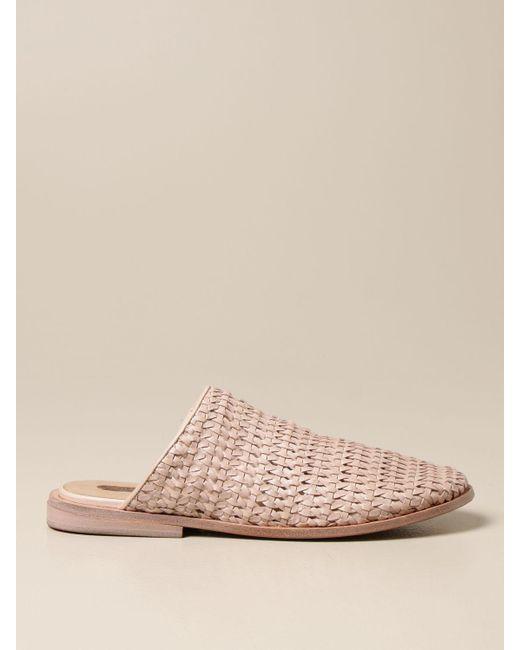 Marsèll Pink Flat Sandals
