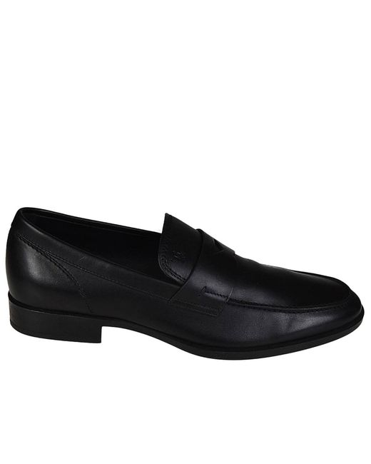 Tod's - Black Loafers Men for Men - Lyst