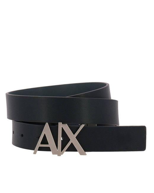Armani Exchange - Blue Belt Men for Men - Lyst