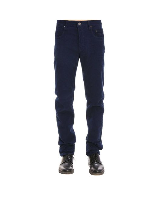 Siviglia - Blue Pants Men for Men - Lyst