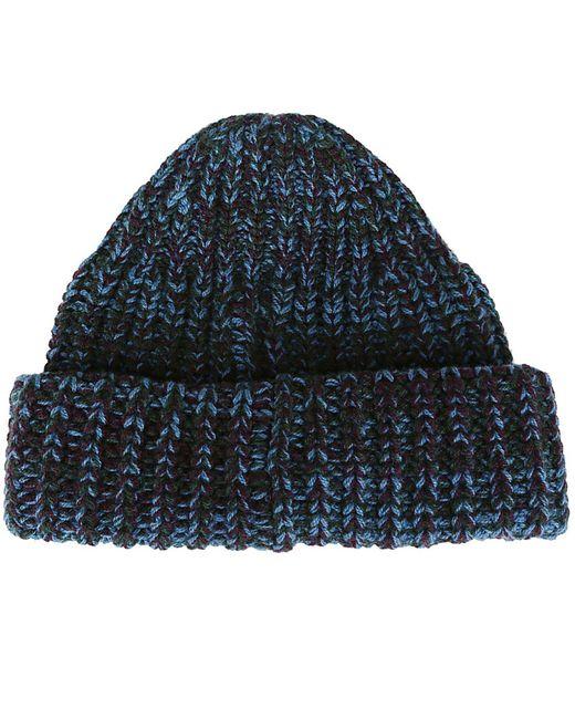 ... Santoni - Blue Hat Men for Men - Lyst 3a19a172deed