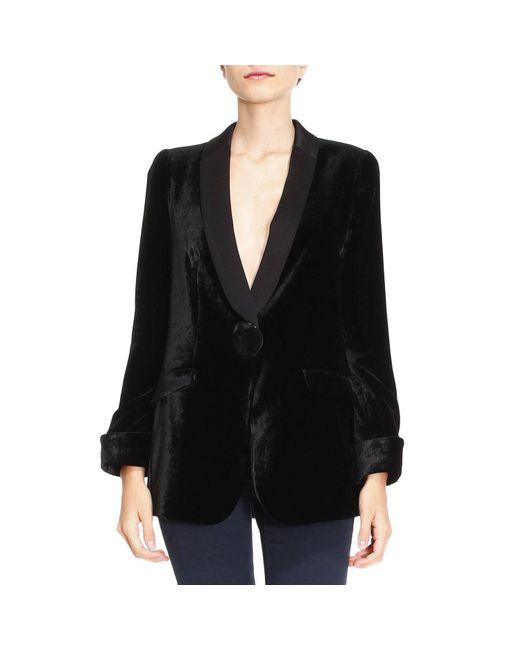 Emporio Armani - Black Blazer Women - Lyst