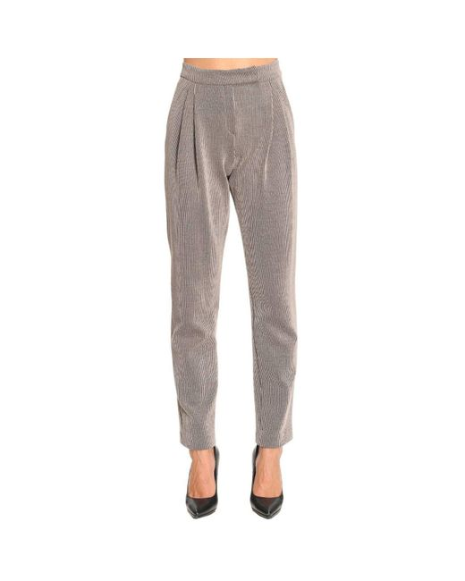 Armani - Natural Pants Women - Lyst