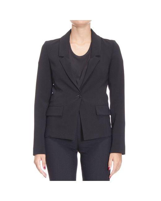 Patrizia Pepe | Black Blazer Suit Jacket Woman | Lyst