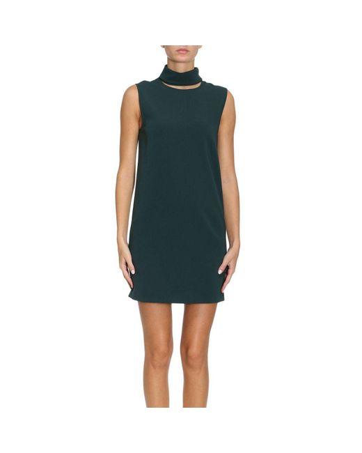 Theory | Green Dress Women | Lyst