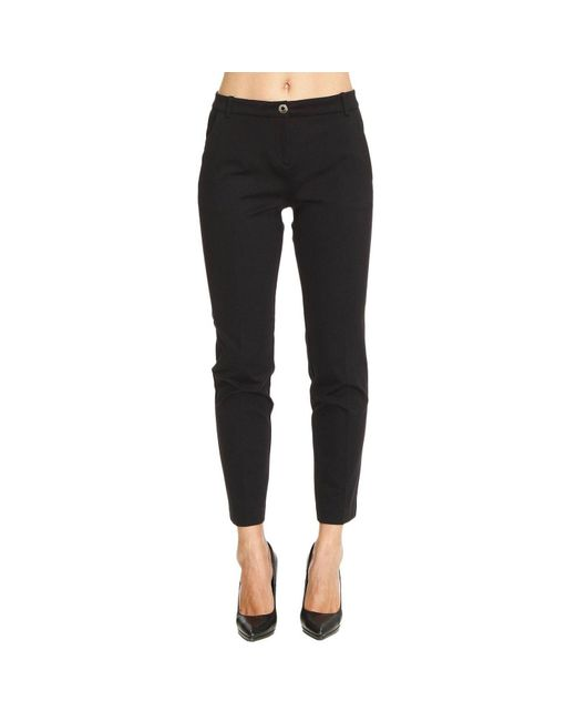 Pinko | Black Pants Women | Lyst