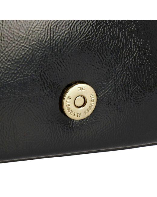 077bd07d33 Lyst - Mini sac à main femme Elisabetta Franchi en coloris Blanc