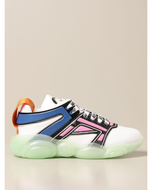 Moschino Couture Blue Sneakers