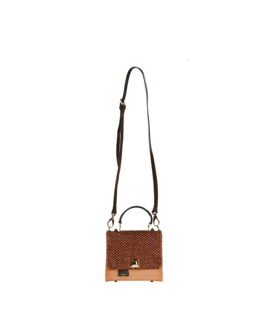 Hervê Guyel | Natural Mini Bag City Gloss Trunk Rafia | Lyst