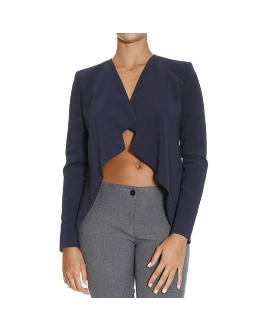 Patrizia Pepe | Blue Women's Blazer | Lyst
