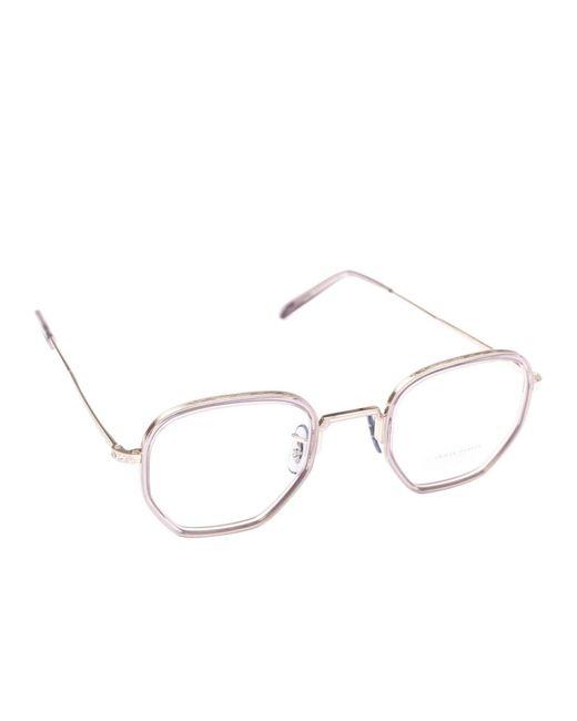 6b3c064d74d8 Oliver Peoples - Gray Glasses Eyewear Men for Men - Lyst ...