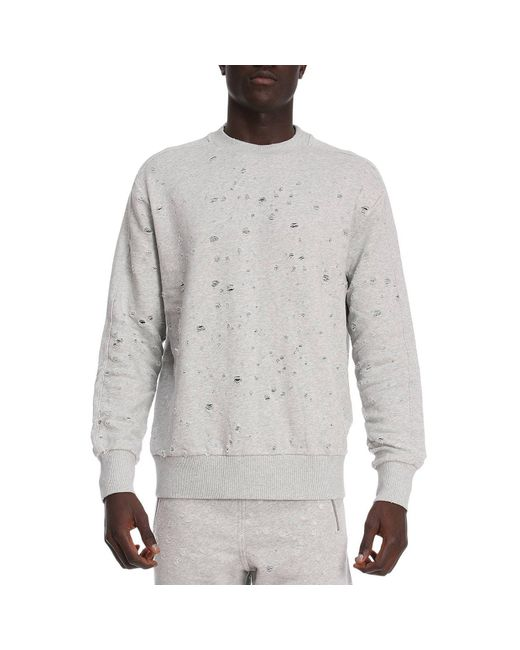 DIESEL - Gray Sweater Men for Men - Lyst