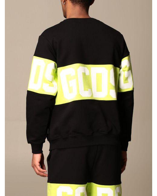 Gcds Black Sweatshirt for men