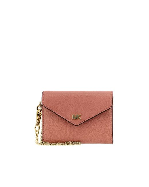 fa9ddfebfc69 MICHAEL Michael Kors - Pink Wallet Women - Lyst ...