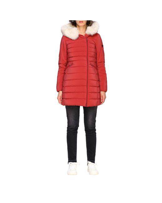 Peuterey Red Women's Jacket