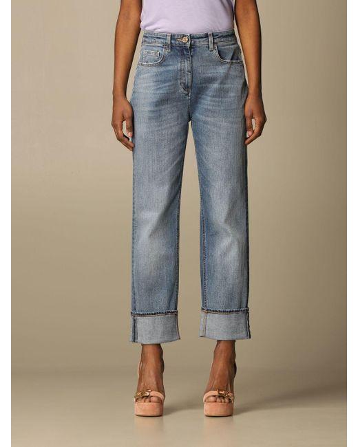 Elisabetta Franchi Blue Jeans