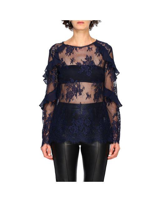 Hanita Blue Women's Shirt