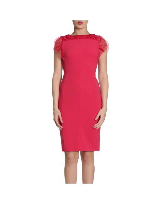 Max Mara - Red Dress Women - Lyst