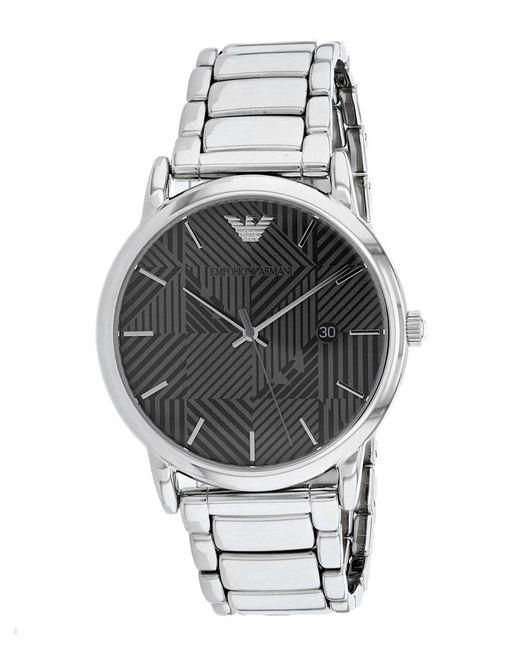 Armani Metallic Classic Watch for men