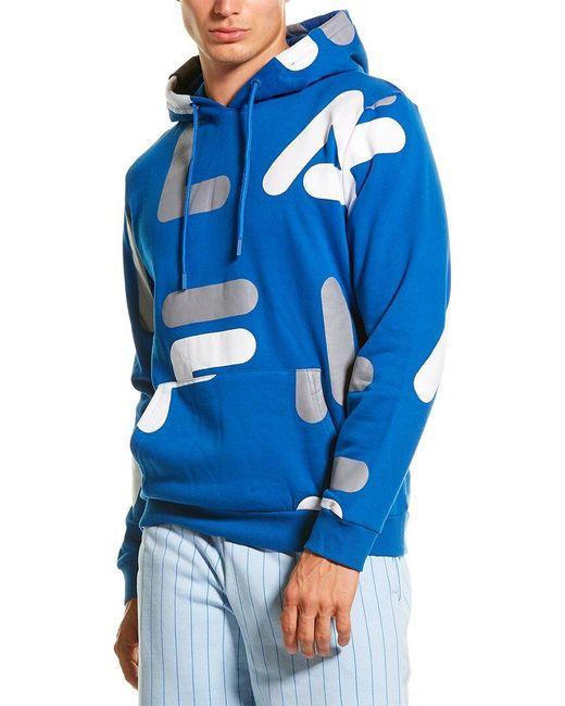 Fila Blue Vittorio Hoodie for men