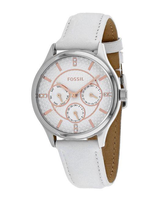 Fossil Metallic Women's Classic Watch