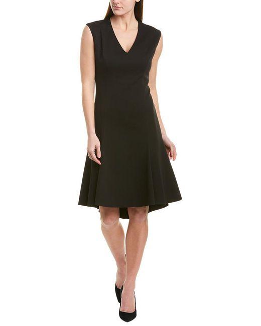 Elie Tahari Black A-line Dress