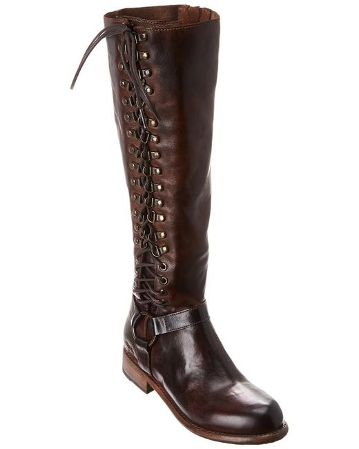 Bed Stu Brown Burnley Leather Boot