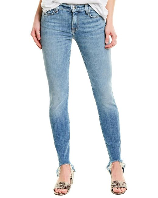 7 For All Mankind Blue 7 For All Mankind Slt3 Super Skinny Leg