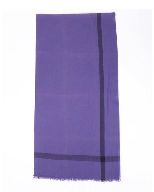 """Hermès Purple """"nuage Deux Tons,"""" Scarf"""