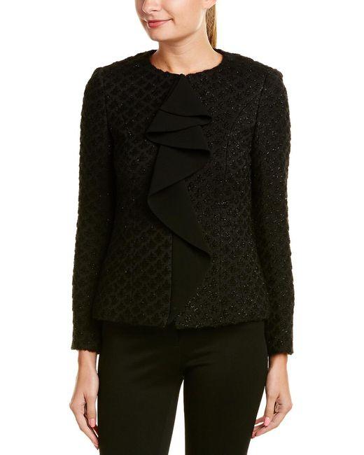 Basler Black Wool-blend Jacket