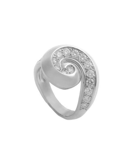 Van Cleef & Arpels Vintage Metallic Van Cleef & Arpels 18k 0.50 Ct. Tw. Diamond Ring