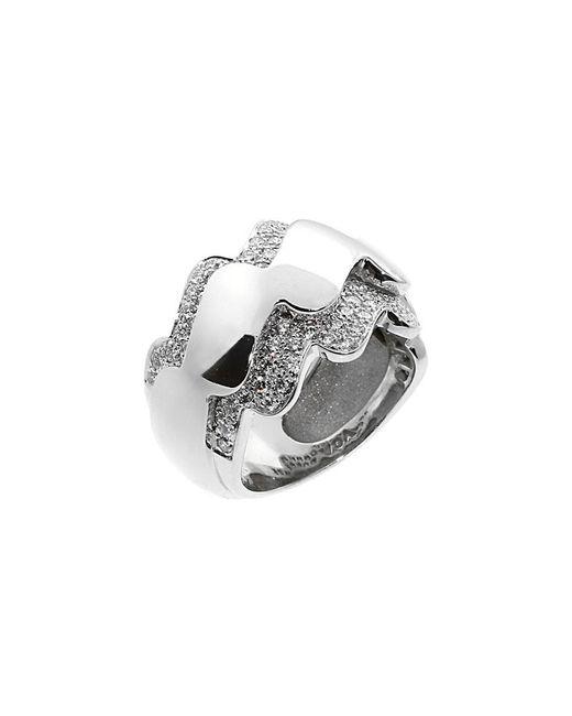 Van Cleef & Arpels Vintage Metallic Van Cleef & 18k 1.00 Ct. Tw. Diamond Ring