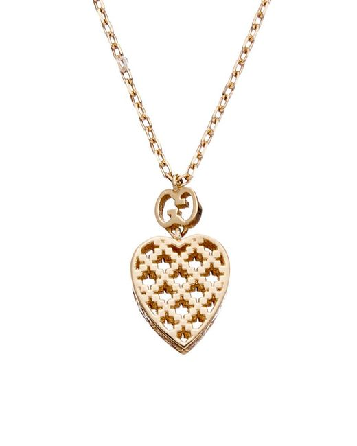 Gucci Metallic 18k Necklace