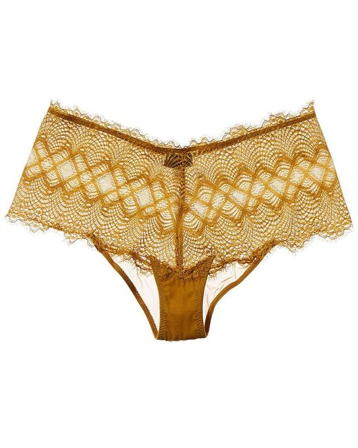 Cosabella Yellow Allure Hotpant