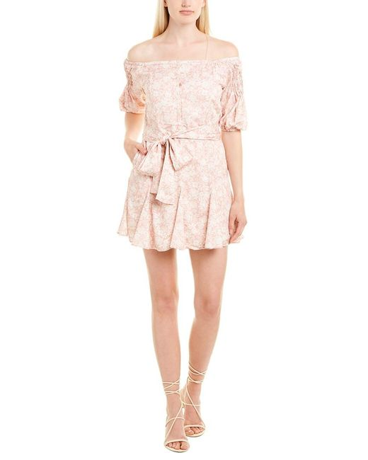 6 Shore Road By Pooja Pink Hollywood Dress