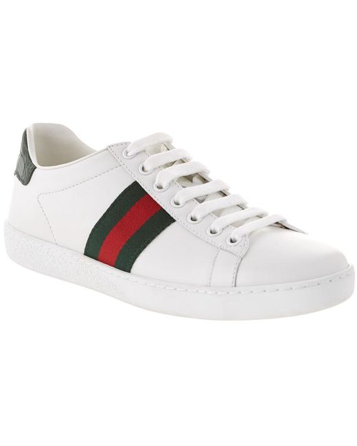 Gucci Green New Ace Sneaker