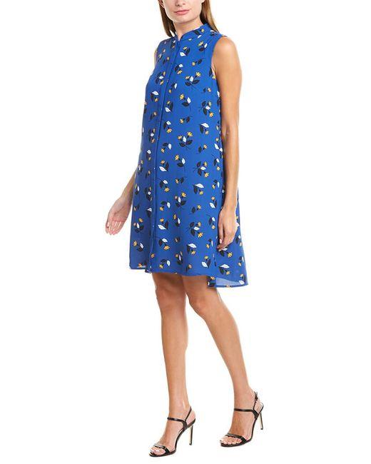 Anne Klein Blue Shirtdress