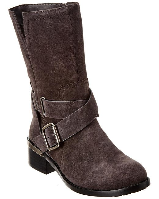Vince Camuto Brown Wethima Bootie