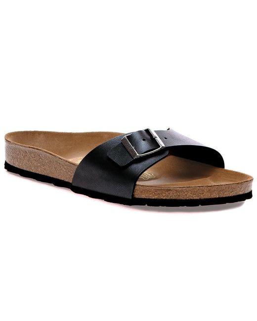 Birkenstock Black Madrid Birko-flor Sandal