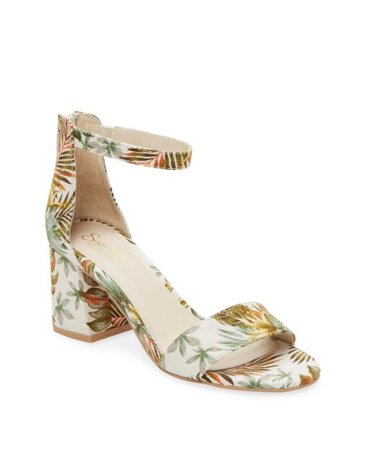 Seychelles - Metallic Pandemonium Banded Sandal - Lyst