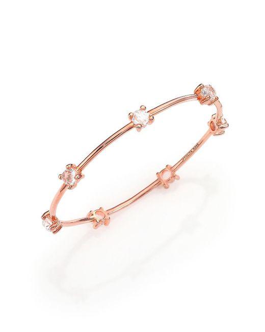Ippolita - Multicolor Rosé Lollipop Clear Quartz Bangle Bracelet - Lyst