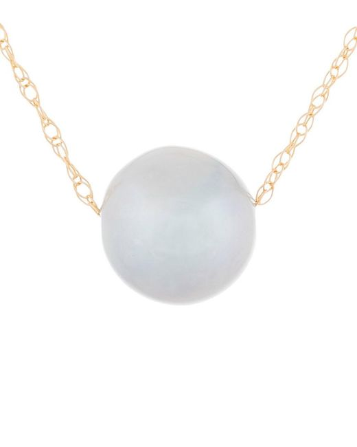 Masako Pearls White 14k 8-9mm Akoya Pearl Necklace