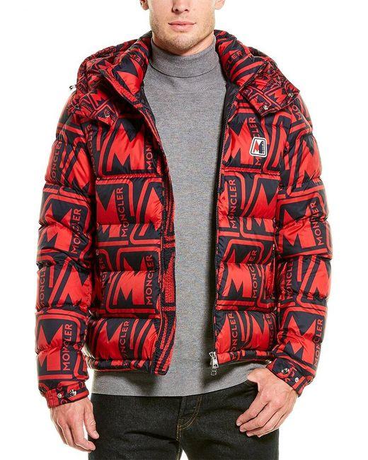 Moncler Red Frioland Jacket for men