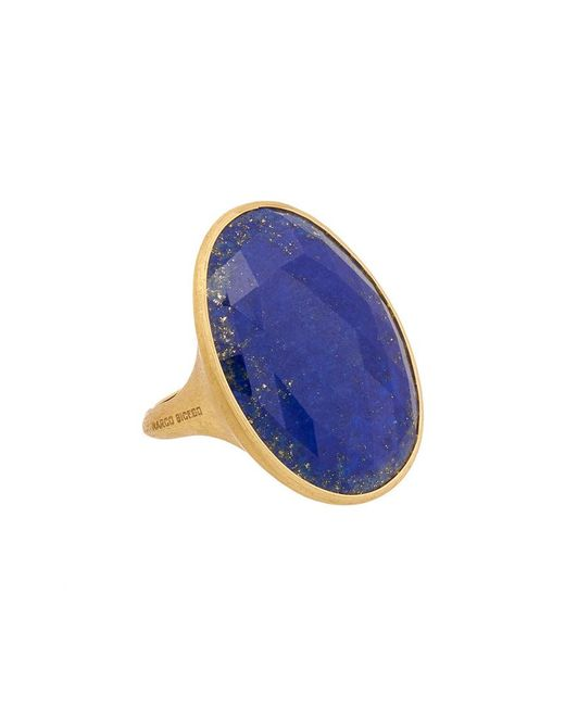 Marco Bicego Multicolor Lunaria 18k Yellow Gold Lapis Ring