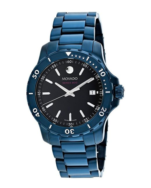 Movado Blue Men's Series 800 Watch for men